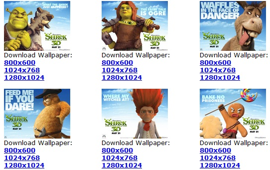 Descargar Wallpapers de Shrek por Siempre (Shrek 4)
