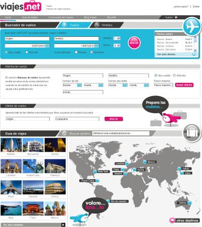 Vuelos y hoteles baratos en viajes.net