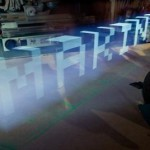 light graffiti con un Ipad