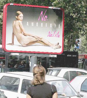 Muere Isabelle Caro luchadora contra la anorexia