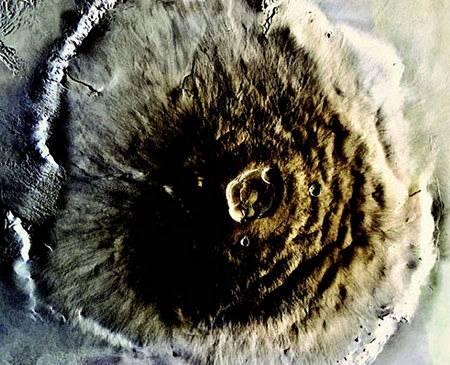 El volcán más alto del sistema solar: El Monte Olimpo