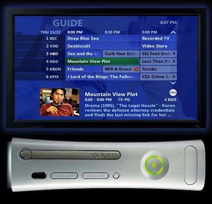 Microsoft planea ofrecer TV a la carta en Xbox