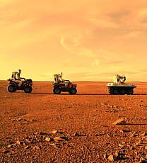 400 personas son voluntarias para un viaje a Marte sin boleto de regreso