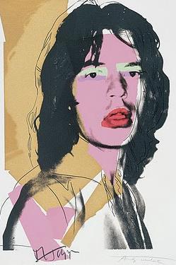 Recuperan retrato de Mick Jagger