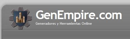 GenEmpire: recopilación de generadores interesantes