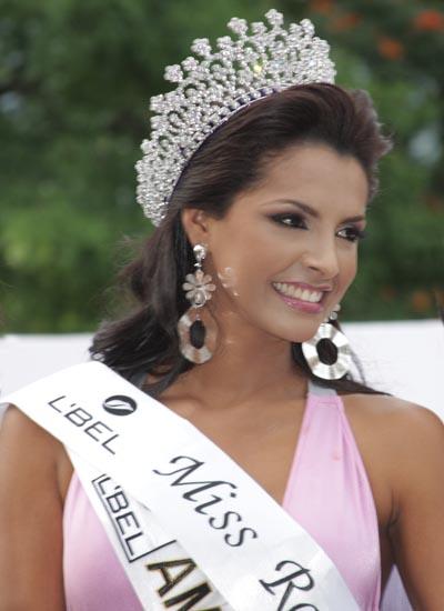 Venezolana elegida como miss mundo