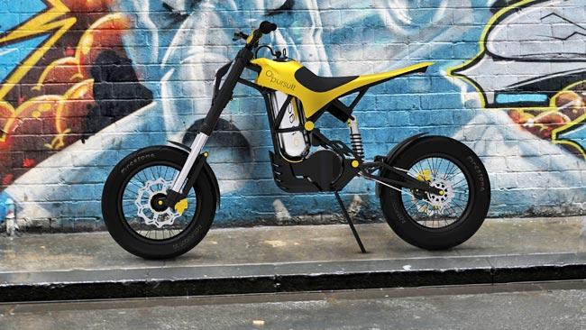 Diseñan una moto impulsada por aire comprimido