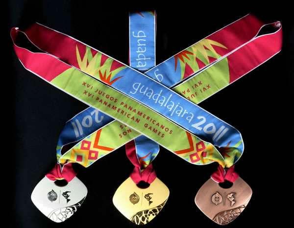 Las medallas de Bronce de los Juegos Panamericanos se decoloran