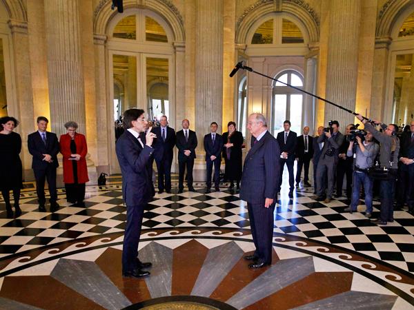 Bélgica anuncia conformación de nuevo gobierno