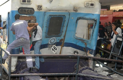 Accidente de tren en Argentina