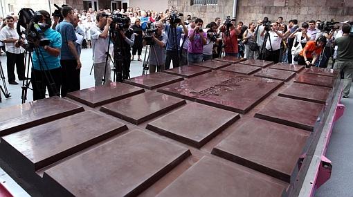 barra chocolate más grande del mundo