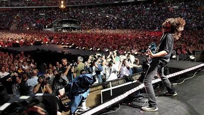 Terremoto causado por concierto de Rock