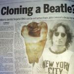 Dentista quiere clonar a John Lennon usando diente del cantante