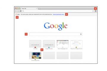 Interfaz Google Chrome