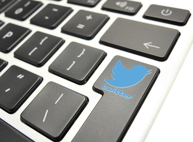 Teclado en Twitter