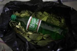 bebida energizante a base de hojas de coca