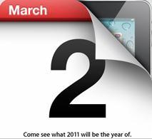 El iPad 2 ya tiene fecha de lanzamiento