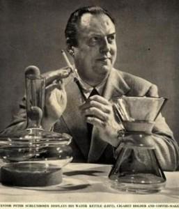 La historia de la cafetera