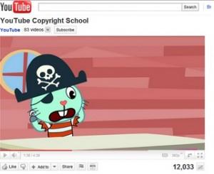 Youtube da lecciones de derecho de autor