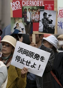 Los jóvenes japoneses se oponen a la energía nuclear