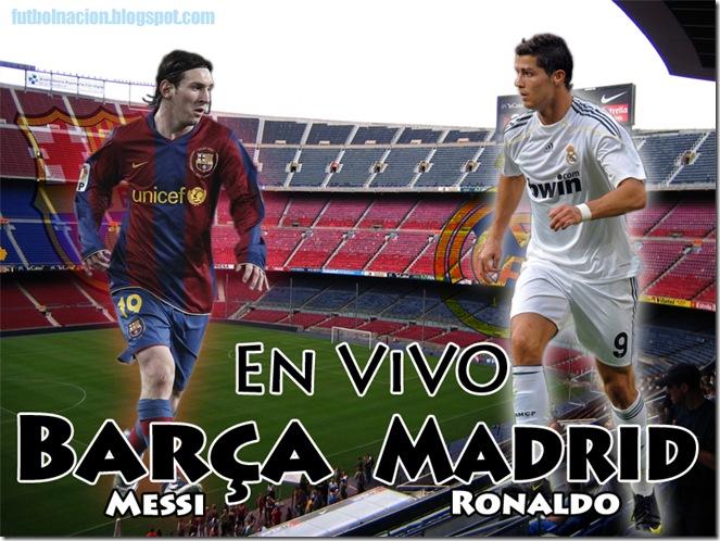 madrid vs barclona 2011