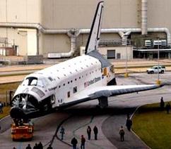 Endeavour en su última misión espacial