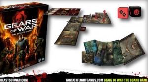 Gears of War ahora es un juego de mesa