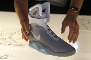 Nike vende las zapatillas de volver al futuro