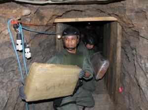 Descubren el narco túnel más grande en Frontera USA México