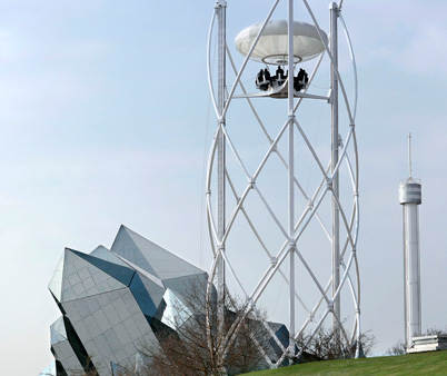 bar aéreo 35 metros altura futuroscope