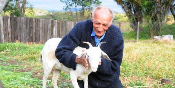 anciano se casara con cabra iglesia satanica