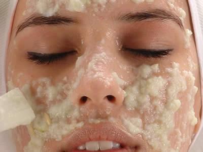 blanquear piel naranja yogurt