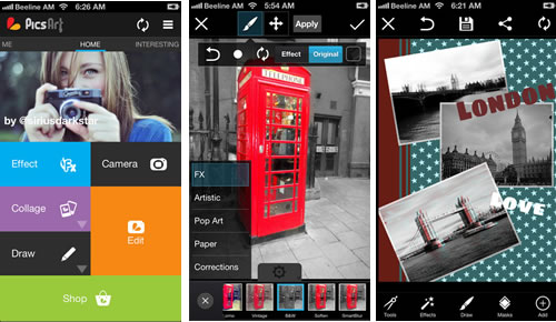 descargar picsart para iphone