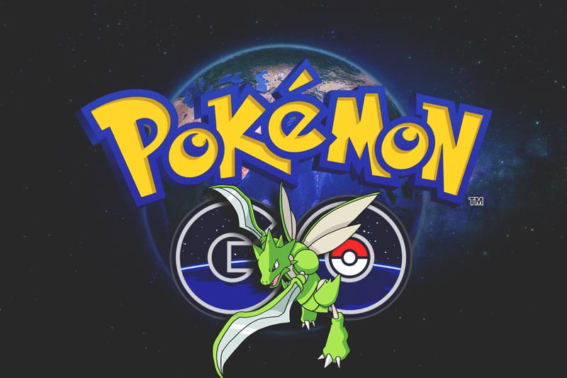 conseguir scyther pokemo