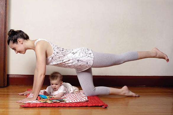 como perder peso despues del embarazo